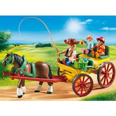 Playmobil Country Horse-Drawn Wagon