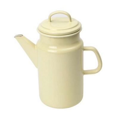 Vintage Home Coffee Pot - Buttermilk