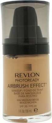 Revlon PhotoReady Airbrush Effect Makeup 30ml - Medium Beige
