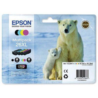 Epson Multipack 4-Colour 26XL Claria Premium Ink