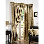 Ilkley Pencil Pleat Curtains 229 x 229cm Multi