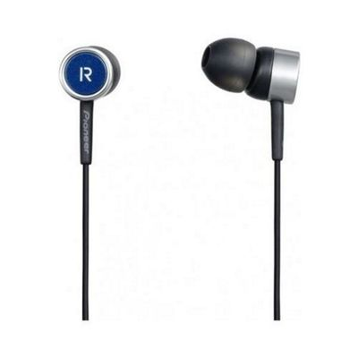 Pioneer SE-CL521-L Fully Enclosed Dynamic Inner-Ear Headphones - Blue