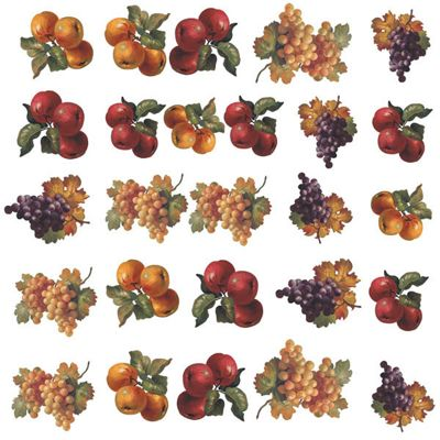 Fruit Harvest Wall Stickers