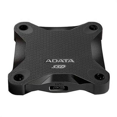 ADATA SD600 (256GB) External Solid State Drive (Black)