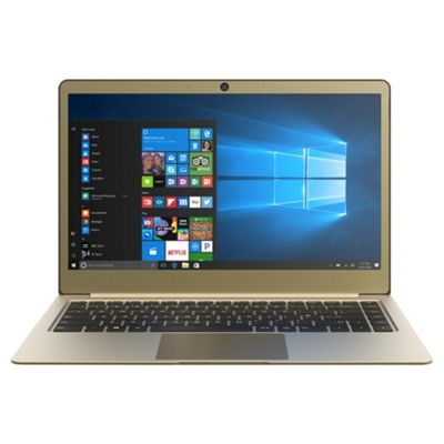 Linx 14€? UltraSlim Full HD Lightweight Aluminium 4GB RAM 64GB Storage Intel Pentium Laptop Gold