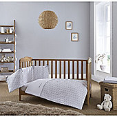 Clair de Lune 2pc Cot/Cot Bed Bedding Set (Speckles Grey)