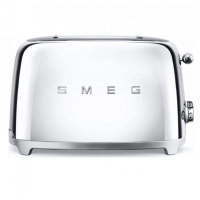 Smeg TSF01SSUK | 50's Retro Style 2 Slice Toaster in Chrome