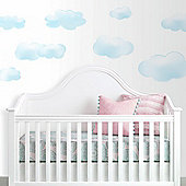 Nursery Wall Stickers, Baby Wall Stickers, Childrens Wall Stickers - Clouds