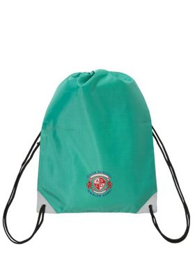 Embroidered School PE Bag