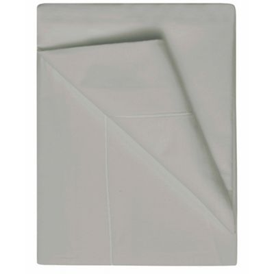 Belledorm 1000 Thread Count Egyptian Cotton Platinum Flat Sheet - Single