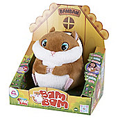 Club Petz Funny Bam Bam Hamster Interactive Soft Toy