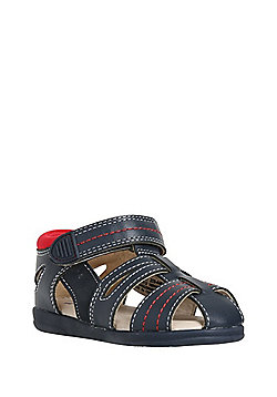 F&F My First Shoes Fisherman Sandals - Navy