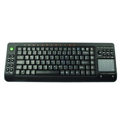 Media Centre Wireless PC Keyboard With Smart Touch