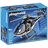 PLAYMOBIL Tactical Unit Helicopter - City Action 5563