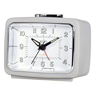 Acctim Retro Sofia Alarm Clock - Grey