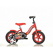 Disney Pixar Cars 10inch Balance Bike Red - DINO Bikes