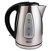Igenix IG7251 Cordless Jug Kettle with Brushed Stainless Steel – 3,000 W, 1.7 L
