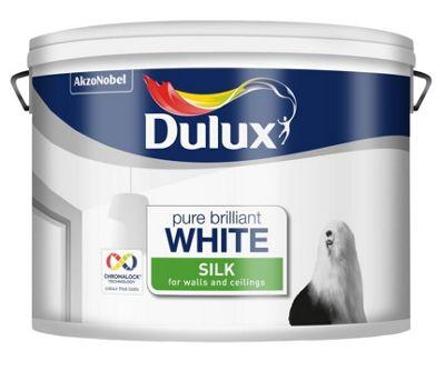 Dulux Retail Silk - Pure Brilliant White - 6L