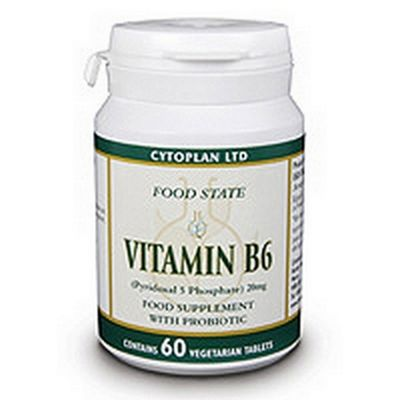 Cytoplan Vitamin B6 P5P 20mg 60 Tablets