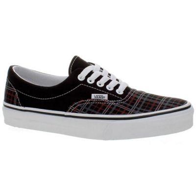 Vans Era (TM Plaid SP10) Black/Chili Pepper Shoe EW40YJ