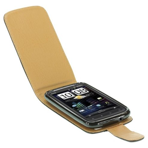 Pro-Tec Executive Leather Case for HTC Sensation - Black