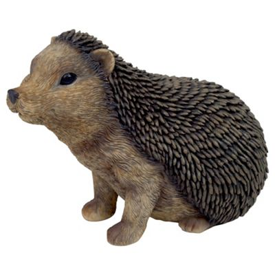Large Sitting Hedgehog Animal Garden Ornament