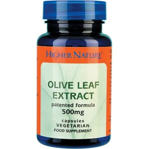 Higher Nature Olive Leaf Extract 500Mg 30 Veg Capsules