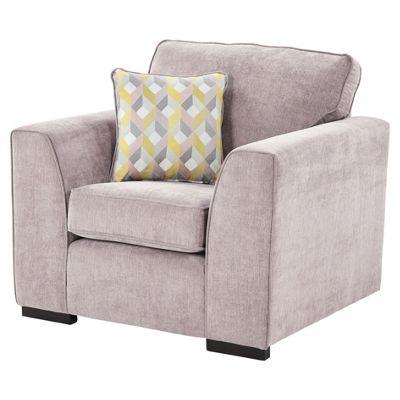 Boston Armchair, Pink