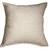 Homescapes Cream Chenille Cushion Cover