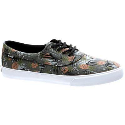 Lakai Camby Pineapple Black Canvas Shoe