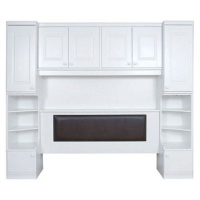 Caxton Henley Overbed Surround with Headboard - Ivory