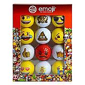 Emoji Golf Balls - 12 Pack