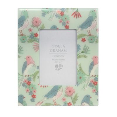Floral Bird Picture Frame