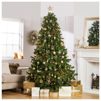 festive 8ft majestic pine christmas tree - 8 Ft Christmas Tree