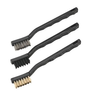 Sealey AK9791 - Miniature Brush Set 3pc