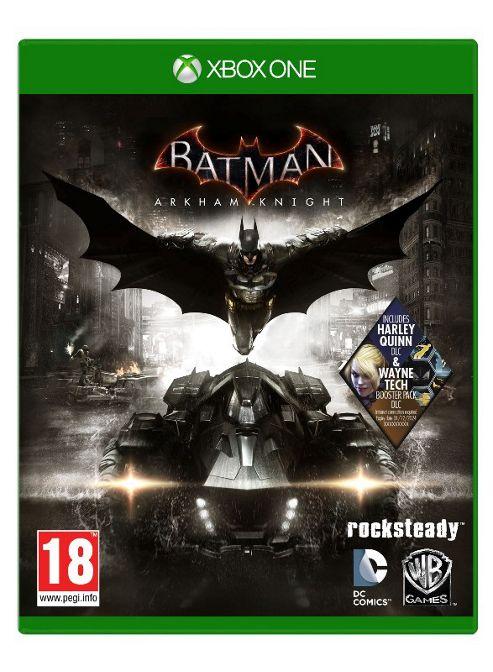 Batman Arkham Knight Xbox One: (inc. Wayne Tech Booster Pack DLC Exclusive to Tesco)