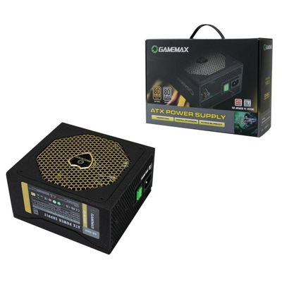 Game Max GM600 600W Gold Modular 80+ Platinum PSU