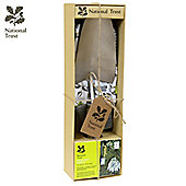 Charles Bentley National Trust Gardening Gift Set With Hand Trowel And Soft Cotton Gloves
