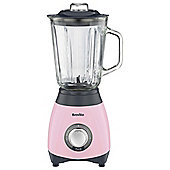 Breville Pick & Mix Blender, VBL066, 600W - Strawberry