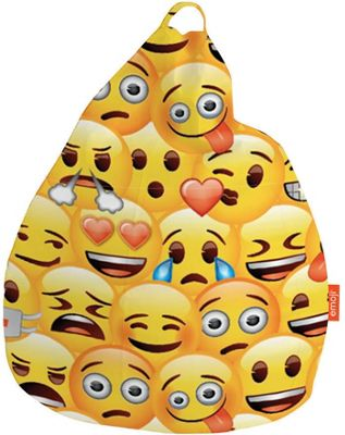 Emoji Faces Bean Bag