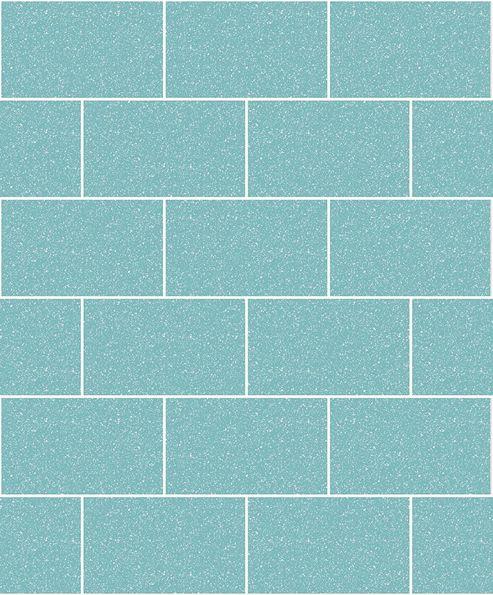 Crown London Tile Aqua Wallpaper
