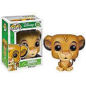 Pop! Movies Disney Lion King Simba Vinyl Figure - Action Figures