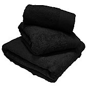Luxury Egyptian Cotton Bath Towel - Black
