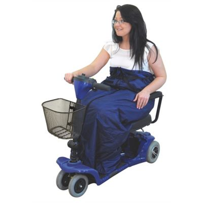 Fleece Lined Scooter Cosy In Blue