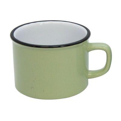 Green Vintage Style Mug