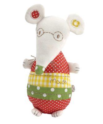 Mamas & Papas - Elfie & Mop - Mouse Chime Toy