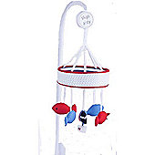 Red Kite Ships Ahoy Cot Musical Baby Mobile