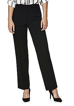 F&F Straight Leg Trousers - Black
