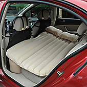 Outsunny Car Travel Inflatable Mattress w/ Air Pump and Pillows (Grey)