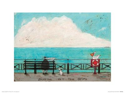 Sam Toft Big Skies Print 30x40cm